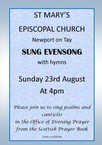 Evensong 230815