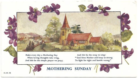 Mothering Sunday | Pagan Calendar